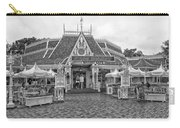 Jolly Holiday Cafe Main Street Disneyland Bw Carry-all Pouch