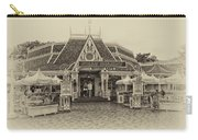 Jolly Holiday Cafe Main Street Disneyland Heirloom Carry-all Pouch