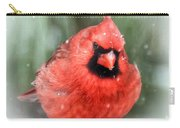 Jolly Old ....... Cardinal  Carry-all Pouch