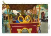 Jolly Trolley Disneyland Toon Town Carry-all Pouch