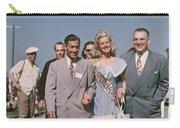 Jone Ann Pedersen Miss California June 1949 Carry-all Pouch