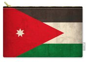 Jordan Flag Vintage Distressed Finish Carry-all Pouch