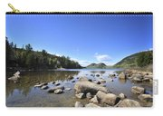 Jordan Pond Carry-all Pouch by Terry DeLuco