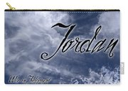 Jordan - Wise In Judgement Carry-all Pouch by Christopher Gaston