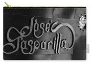 Jose Gasparilla Name Plate Carry-all Pouch