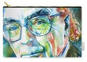 Jose Saramago Portrait Carry-all Pouch
