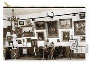 Joseph Kurtz Oliver Artist In His Studio Monterey Circa 1905 Carry-all Pouch