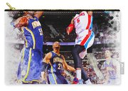 Josh Smith Of The Detroit Pistons Carry-all Pouch