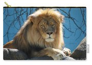 Joshua The Lion On His Rock Carry-all Pouch