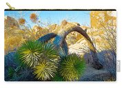 Joshua Tree Bowing Down At Quail Springs In Joshua Tree Np-ca Carry-all Pouch