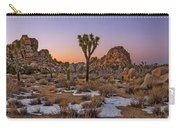 Joshua Tree Dusk Panorama Carry-all Pouch