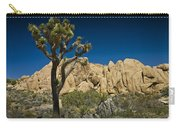 Joshua Tree In Joshua Tree National Park No. 323 Carry-all Pouch