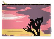 Joshua Tree National Park Vintage Poster Carry-all Pouch
