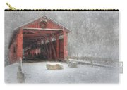 Josiah Hess Covered Bridge Carry-all Pouch