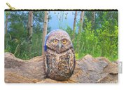 Journey Of Burrowing Owl Carry-all Pouch