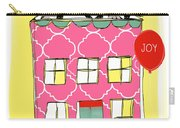 Joy House Card Carry-all Pouch by Linda Woods