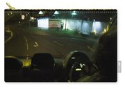 Joy Ride At Mid Night In Paris View From Rear   Of Limo Carry-all Pouch