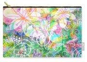 Joyful Flowers By Jan Marvin Carry-all Pouch