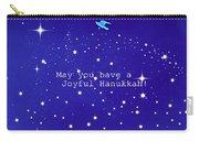 Joyful Hanukkah Card  Carry-all Pouch