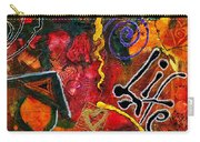 Joyfully Living Life Anew Carry-all Pouch