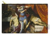 Judith And Holofernes Carry-all Pouch