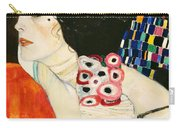 Judith II Carry-all Pouch by Gustav Klimt