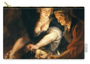 Judith With The Head Of Holofernes Carry-all Pouch