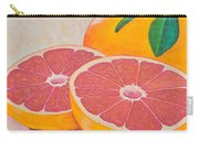 Juicy Pink Grapefruit Carry-all Pouch