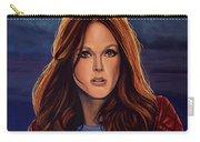 Julianne Moore Carry-all Pouch by Paul Meijering