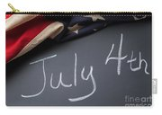 July 4 Sign On Chalkboard Carry-all Pouch