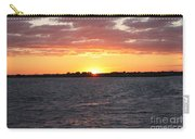 July 4th Sunset Carry-all Pouch by John Telfer