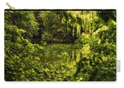 July Tranquil Indian Lake Carry-all Pouch