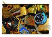 Jumble Of Locks Carry-all Pouch
