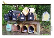 Jumbled Mailboxes Carry-all Pouch