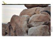 Jumbo Rock Joshua Tree Carry-all Pouch