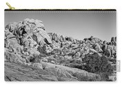 Jumbo Rocks Bw Carry-all Pouch
