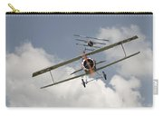 Jumped Carry-all Pouch by Pat Speirs