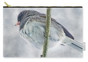 Junco On A Twig Carry-all Pouch