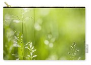 June Green Grass  Carry-all Pouch by Elena Elisseeva