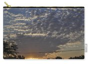 June Sunrise From The Series The Imprint Of Man In Nature Carry-all Pouch