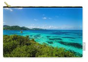 Jungle And Turquoise Water Carry-all Pouch
