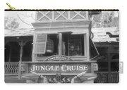 Jungle Cruise Adventureland Disneyland Bw Carry-all Pouch