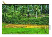 Jungle Homestead - Paint  Carry-all Pouch