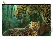 Jungle Spirit - Leopard Carry-all Pouch
