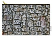 Juniper Bark- Texture Collection Carry-all Pouch