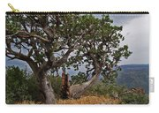 Juniper Tree On The Edge Of The Verde Valley Carry-all Pouch