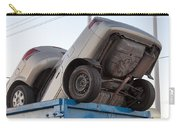 Junk Cars In Dumpster Cash For Clunkers Carry-all Pouch