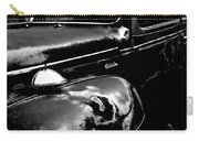 Junkyard Series Old Plymouth Black And White Carry-all Pouch