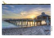 Juno Beach Pier At Dawn Carry-all Pouch