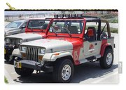 Jurassic Park Jeeps Carry-all Pouch